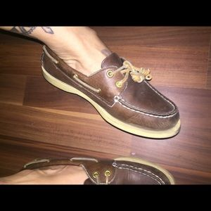 Brown leather Sherry's